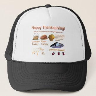 Enorm thanksgivingskjorta truckerkeps