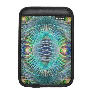 Enorm turkosFractalkonst iPad Mini Sleeve