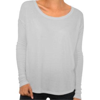 Enorma kvinna T-tröja med inpassade långärmader T-shirts