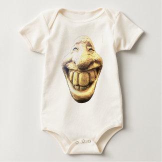 Enormt lyckligt ansikte bodies för bebisar