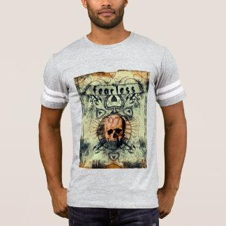 Enormt oförskräckt designat pokerkort tee shirt