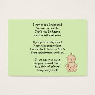 Ensam barnvagnTot Visitkort