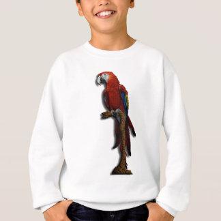 Ensam tröja för röd papegoja