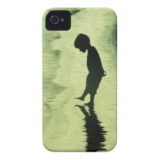 Ensamheten iPhone 4 Case-Mate Fodral