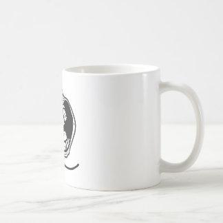 ensamt ansikte för för evigt kaffemugg