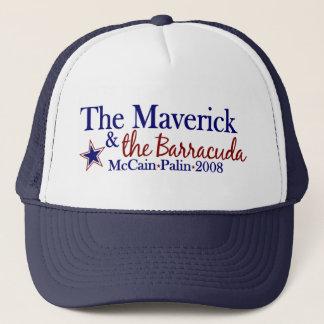 Ensamvarg och Barracuda (McCain Palin 2008) Keps