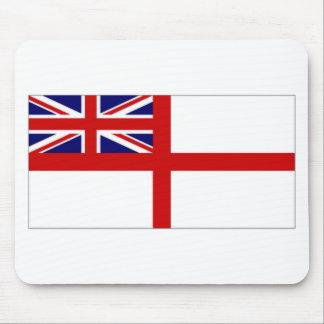 Ensign för United Kingdom sjö- Ensignvit Musmatta
