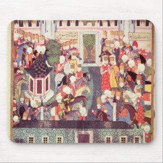 Enthronement av Suleyman det storartat Musmatta