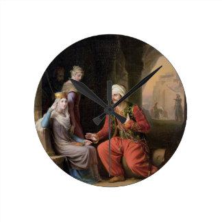 Entreatyen, 1822 (olja på kanfas) klockor
