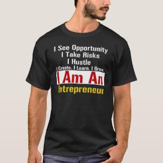 entreprenör t-shirt