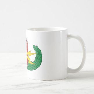 Eod-pensionär i färg kaffemugg