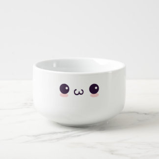 epicutekattansikte mugg för soppa