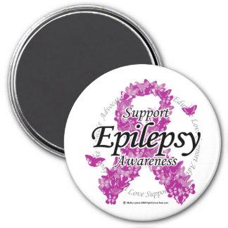 Epilepsiband av fjärilar magnet för kylskåp