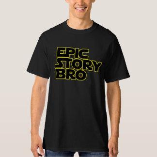 Episk skjorta för berättelseBro parodi T Shirts
