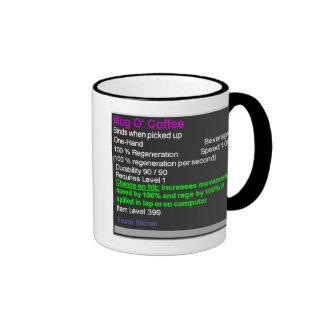 Episkt muggO kaffe Ringer Mugg