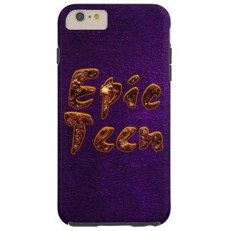 Epos tonåring med purpurfärgad bakgrund tough iPhone 6 plus skal