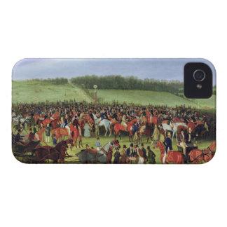 Epsom tävlingar: Slå vad postar (olja på kanfas) iPhone 4 Case-Mate Case