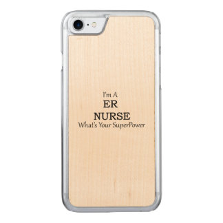 Er-sjuksköterska Carved iPhone 7 Skal