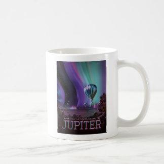 Erfara aurororna av Jupiter Kaffemugg