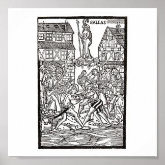 Erfurter Sudentenunruhen, 1520 Poster