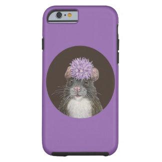 Erin det hooded utsmyckade fodral för råttaiPhone Tough iPhone 6 Fodral