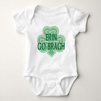 Erin går den Bragh spädbarnrankan Tee Shirt