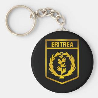 Eritrea Emblem Rund Nyckelring