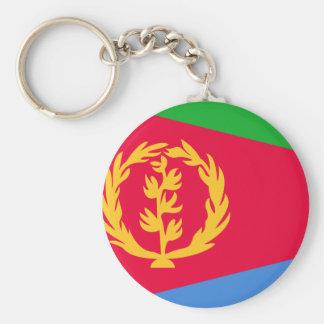 Eritrea flagga rund nyckelring