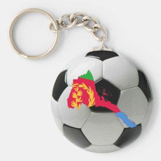 Eritrea fotbollfotboll rund nyckelring
