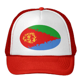 Eritrea Gnarly flaggahatt Trucker Kepsar