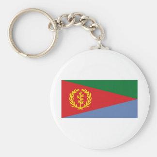 Eritrea medborgareflagga rund nyckelring