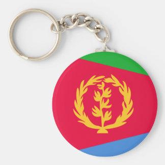 eritrea rund nyckelring
