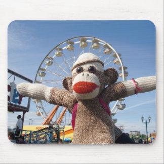 Ernie sock monkeypariserhjulen Mousepad Musmatta