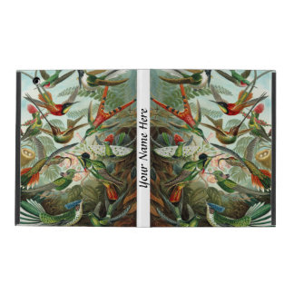 Ernst Haeckel vibrerande och färgrika hummingbirds iPad Skal