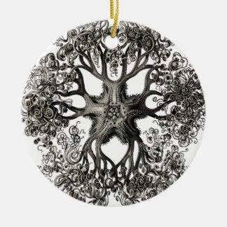 Ernst Haeckels Gorgonocephalidae Julgransprydnad Keramik