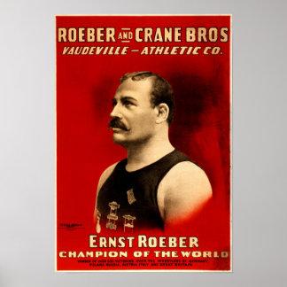 Ernst Roeber, mästare av världsaffischen Poster