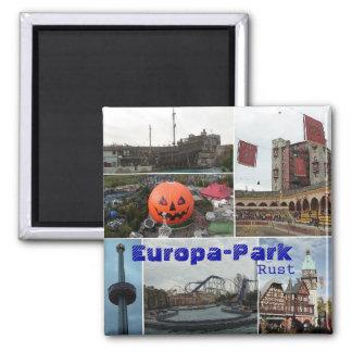 EropaPark Europa-Parkerar, rostar Magnet