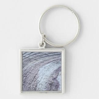Erosion Zion nationalpark, Utah 2 Fyrkantig Silverfärgad Nyckelring
