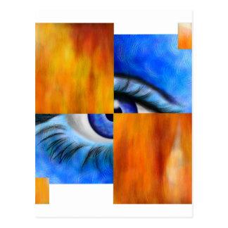 Ersebiossa V1 - gömmt öga utan baksida Vykort