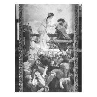 Esmeralda och Quasimodo, 1905 Vykort