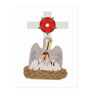 Esoterisk pelikan vykort