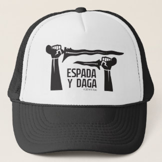 Espada y Daga Astig skjorta Truckerkeps