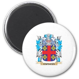Espinoza vapensköld - familjvapensköld magnet rund 5.7 cm
