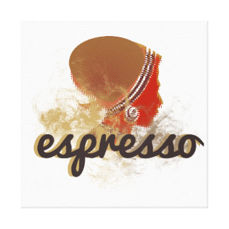 espresso canvastryck