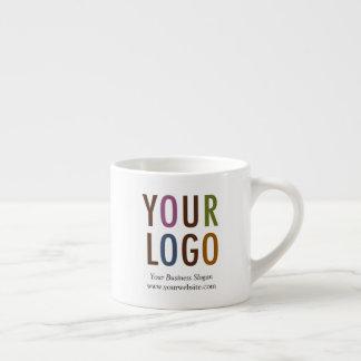Espressomugg med företagslogotypen 6 uns ingen