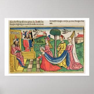 Esther 2 15-18, Esther väljs för att vara drottnin Poster