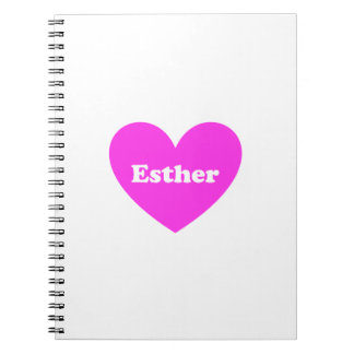Esther Anteckningsbok