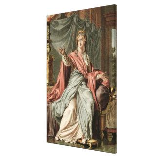 "Esther dräkt för ""Esther"" vid Jean Racine, från Canvastryck"