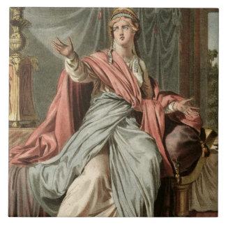 """Esther dräkt för """"Esther"""" vid Jean Racine, från Kakelplatta"""