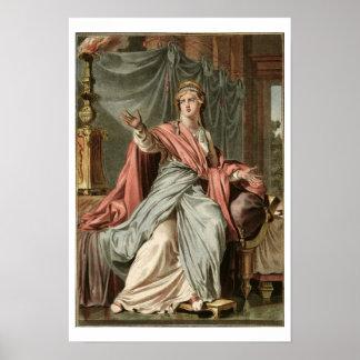 """Esther dräkt för """"Esther"""" vid Jean Racine, från Poster"""